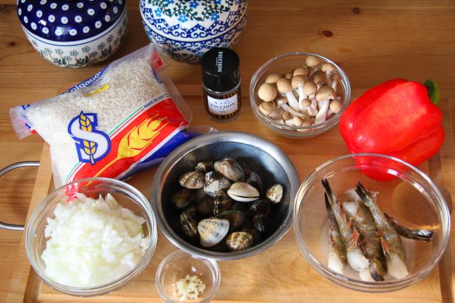 paella材料