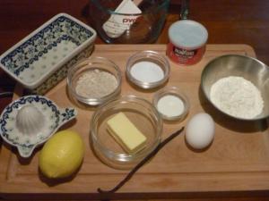 lemoncake材料