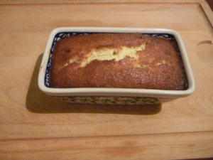 lemoncake焼き上がり
