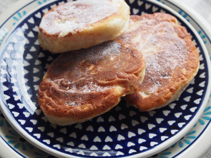ポーランド伝統料理 racuchy