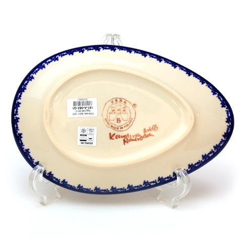 ポーランド陶器 エッグプレート