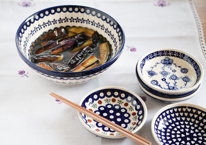 ポーランド陶器 銘々皿 イメージ