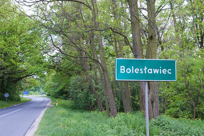ボレスワヴィエツの標識