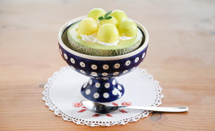 ポーランド陶器 アイスクリームカップ