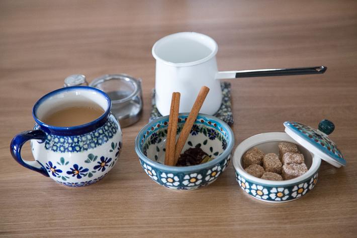 ポーリッシュポタリーとケニア紅茶