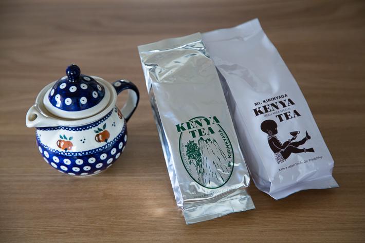 ポーリッシュポタリーとケニア紅茶3