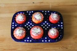 トマトのファルシー作り方2