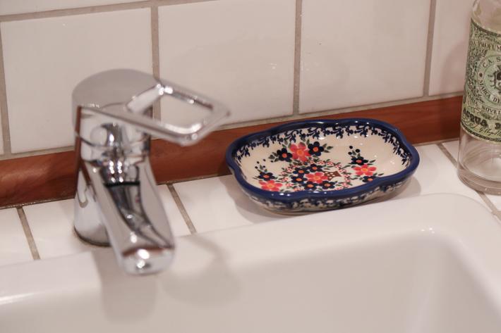 ポーランド陶器 ソープディッシュ