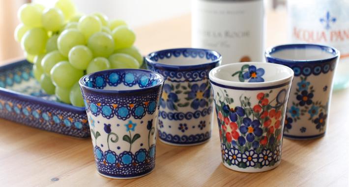 ポーランド食器 ワインカップ